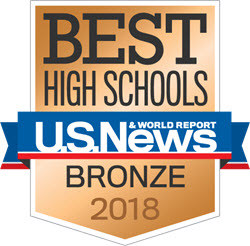 us news and world report logo for best high schools